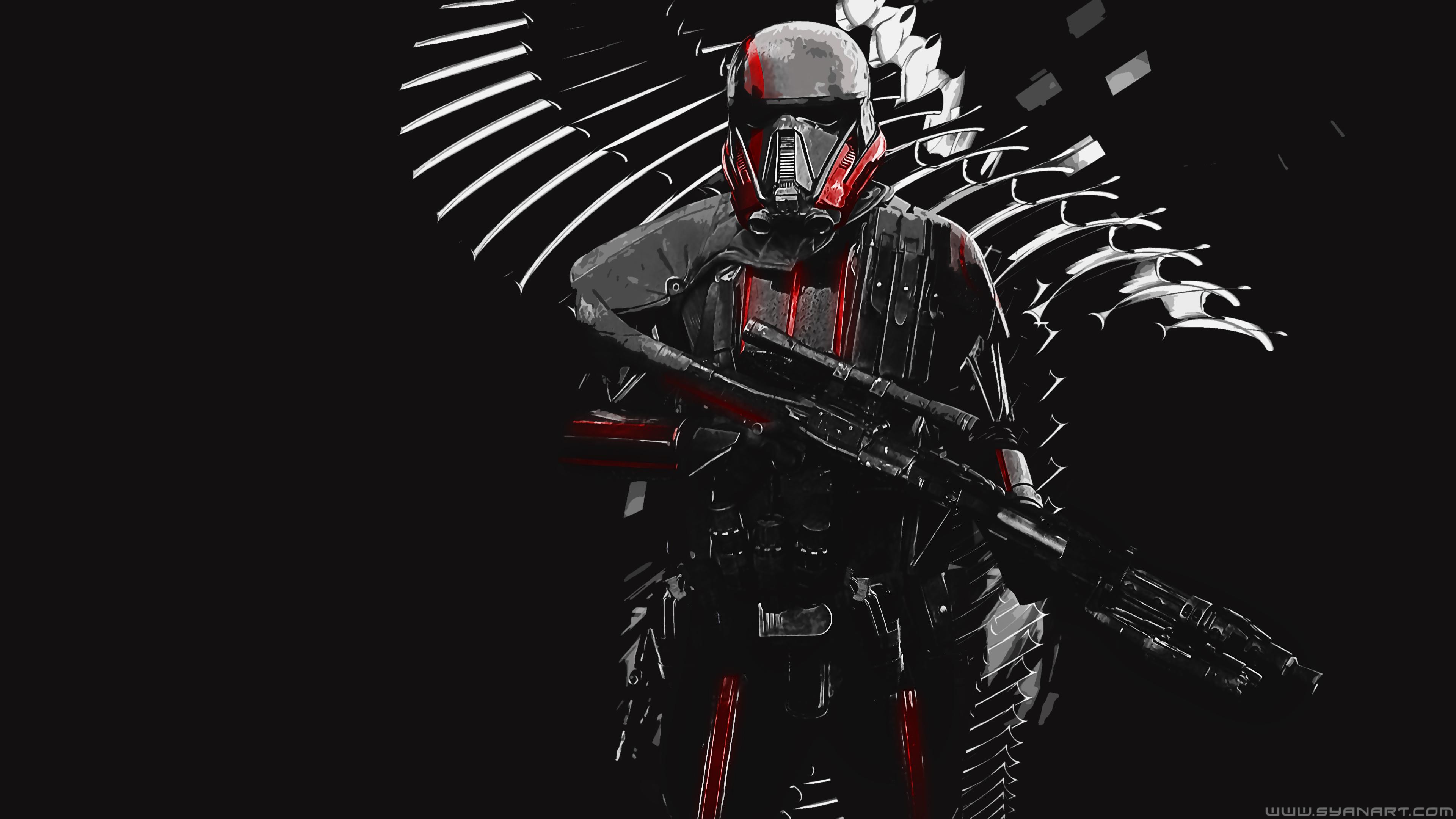 Star Wars Battlefield 2 Inferno Squad 4k Wallpaper Syanart Station