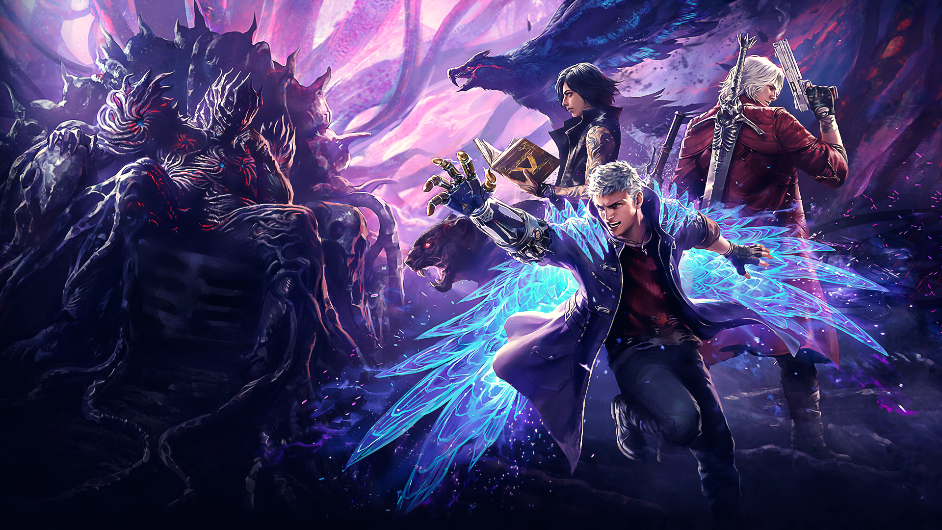 The Best Logo Devil May Cry 5 Wallpaper