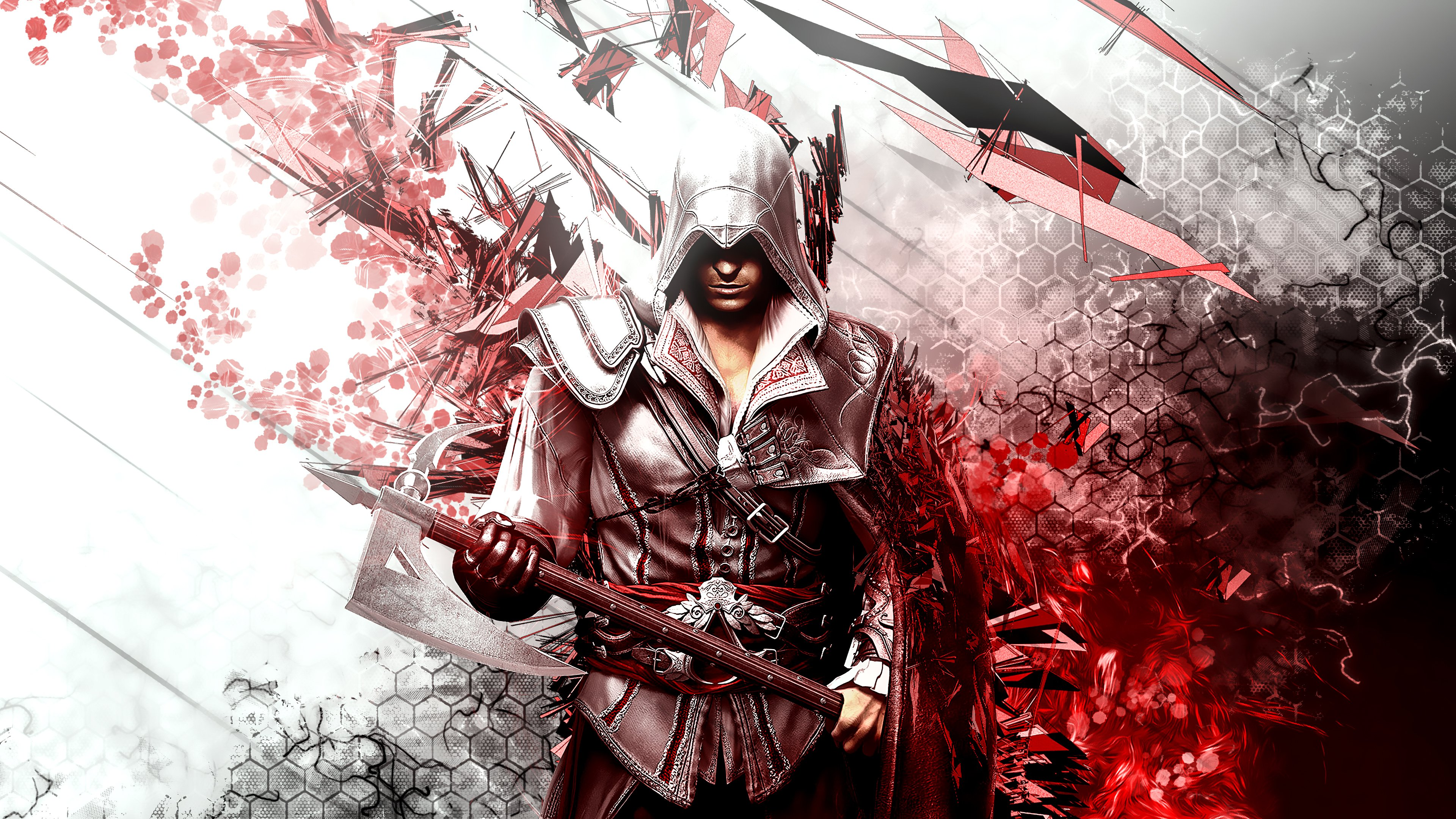 Assassin S Creed Ezio Auditore 4k Wallpaper Syanart Station
