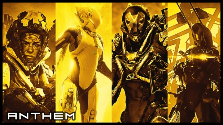Anthem 10 4K Gold Wallpapers