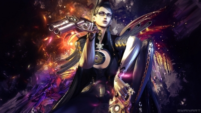 Bayonetta abstract wallpaper