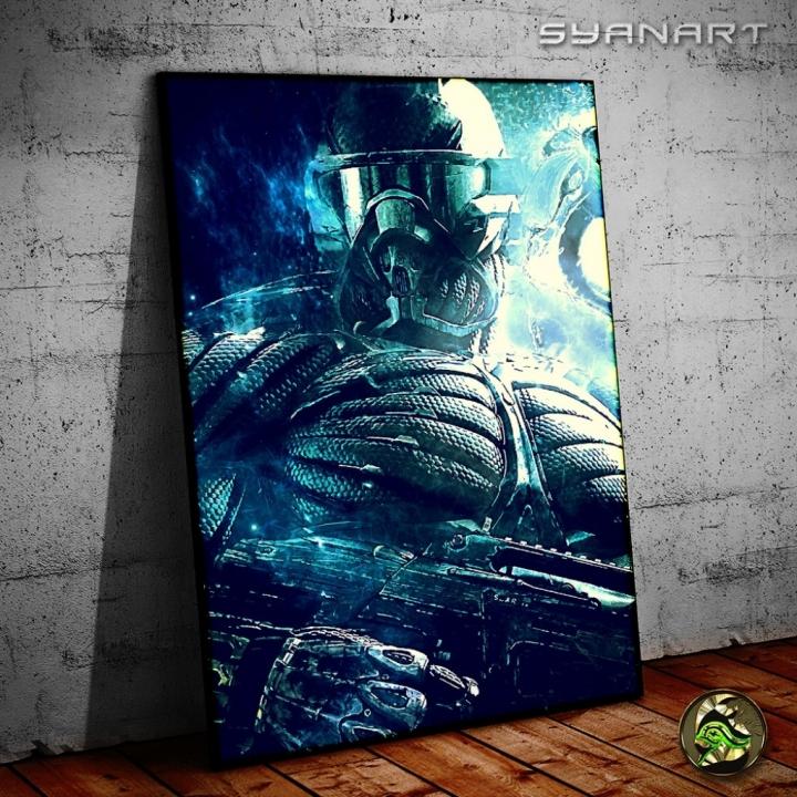Crytek Crysis 1 Prophet Nanosuit Poster