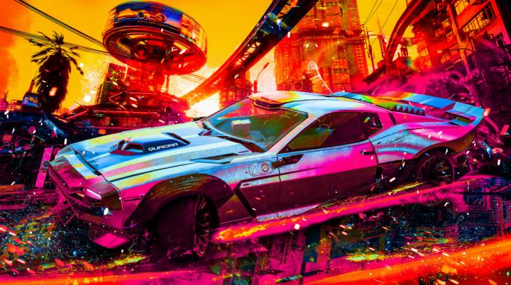 Cyberpunk 2077 4K Wallpaper – CyberBug colors