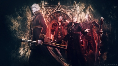 Devil May Cry 4 Special Edition Wallpaper