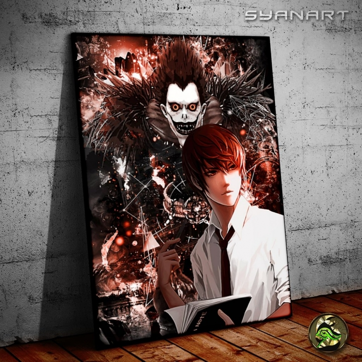 Death Note Anime Yagami Light Kira Poster
