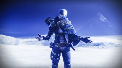 Destiny 2 Exo Stranger Europa 4K wallpaper