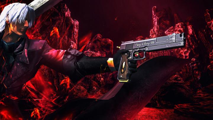Devil May Cry 1 Classic Dante 4K Wallpaper