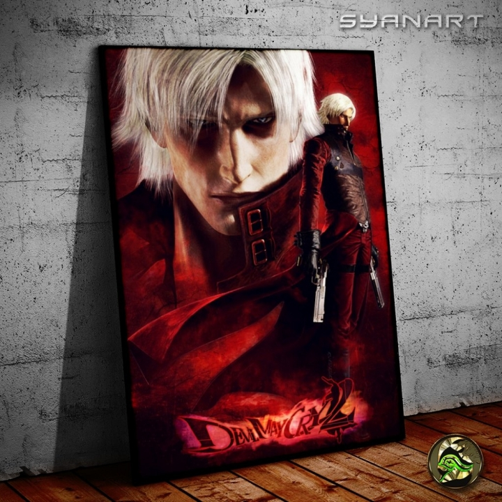 Devil May Cry 2 – Ultimate tribute Poster wallart