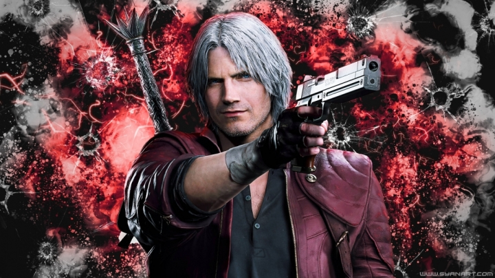 Devil May Cry 5 Dante Sparda 4K Wallpaper