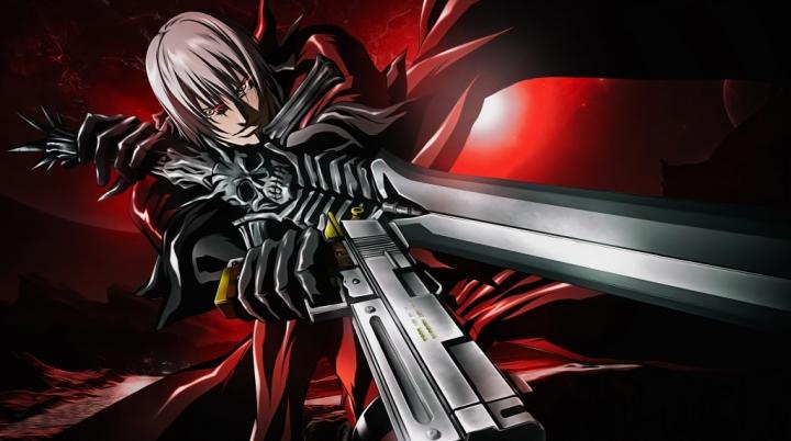 Devil May Cry Dante Anime 4K Wallpaper