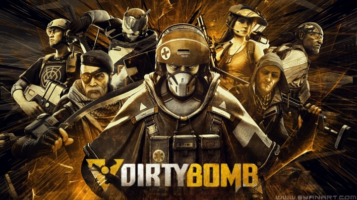 Dirty bomb Wallpaper – SyanArt