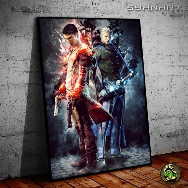 DmC Devil May Cry – Brothers Wallart Poster