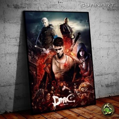 DmC Devil May Cry Ultimate  posterWallArt