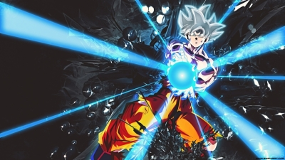 Dragon Ball Super – Goku Ultra Instinct White 4K Wallpaper