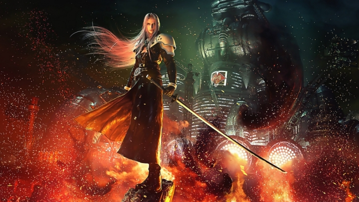 Final Fantasy 7 remake sephiroth 4K wallpaper
