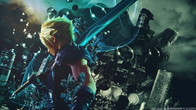 Final Fantasy 7 Remake Hack And Slash Wallpaper