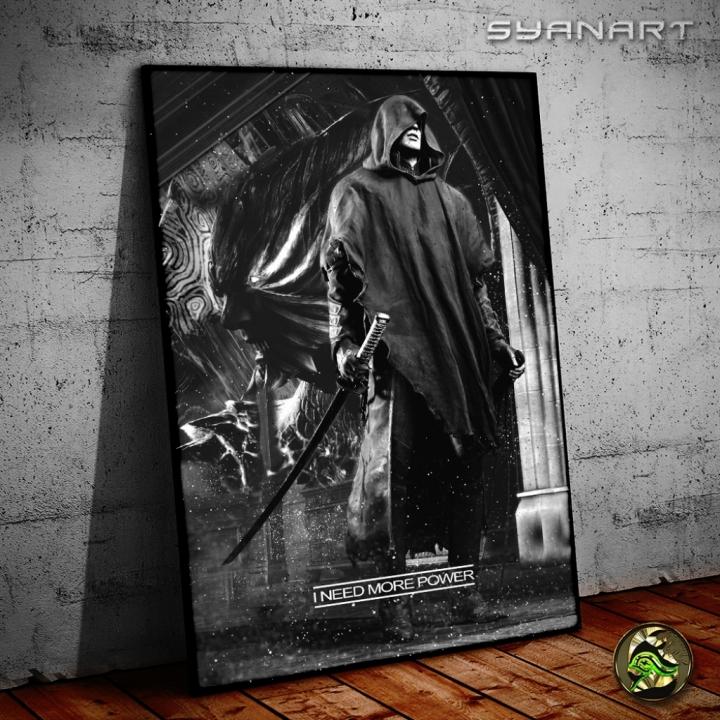 Devil May Cry 5 Vergil I need more power Wallart