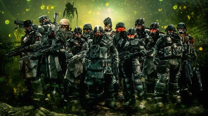 Killzone 2 Helghast Army 4K Wallpaper