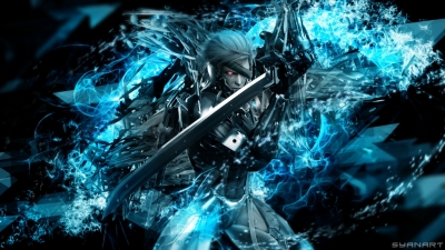 Metal Gear Rising Raiden FullHD Wallpaper
