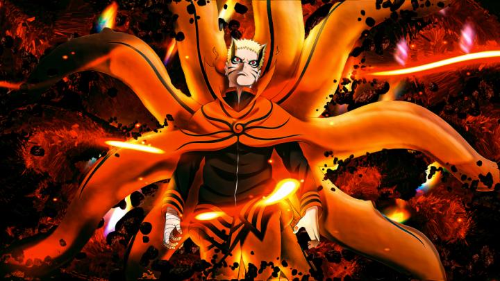 Naruto Bayron mode 4k wallpaper