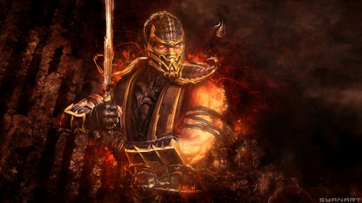 Mortal Kombat 9 Scorpion wallpaper