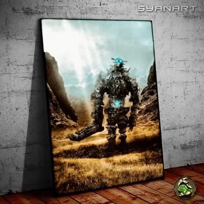 Shadow of The Colossus Gaius Artwork