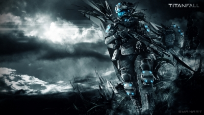 TitanFall FullHD gaming wallpaper