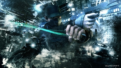 Watch Dogs Abstract Wallpaper