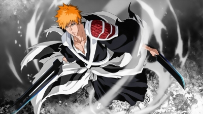 Bleach Ichigo True Shikai 4K Wallpaper