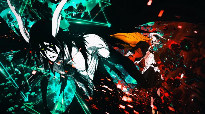 Bleach Ulquiorra vs Ichigo Vasto Lorde 4K Wallpaper