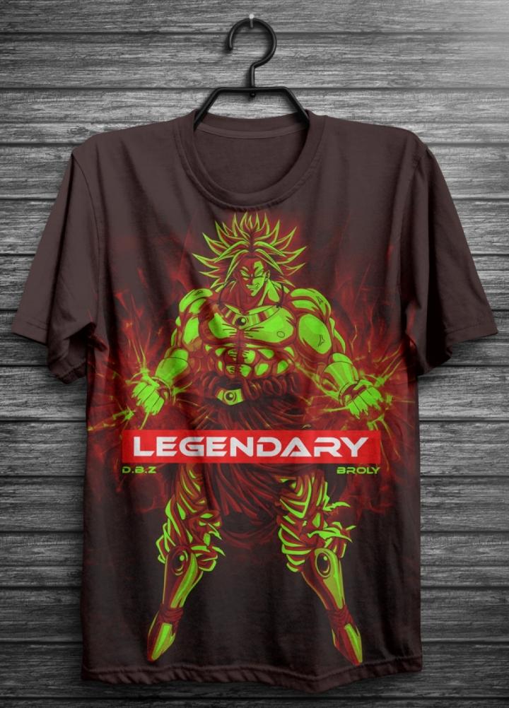 DBZ Broly Legendary t-shirt