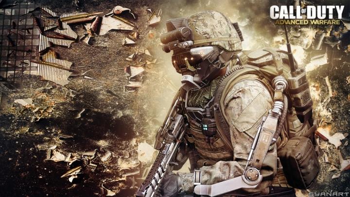 Call of Duty Advanced Warfare gaming wallpaper