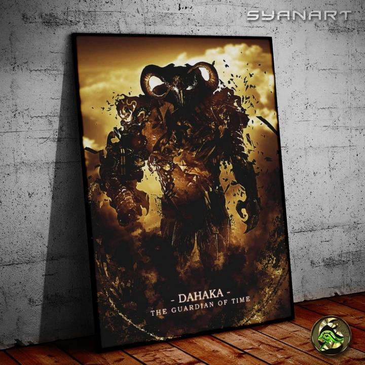 Prince of Persia Dahaka Ultimate WallArt