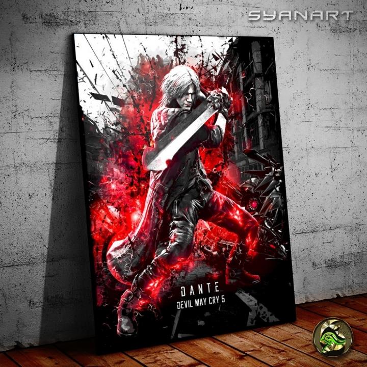 Devil May Cry 5 Dante Poster Print