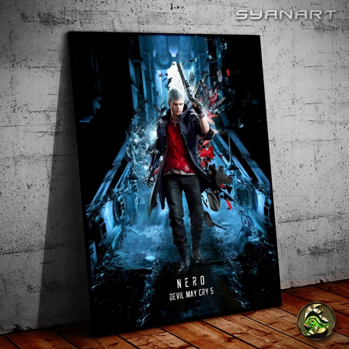 Devil May Cry 5 Nero Wallart poster print