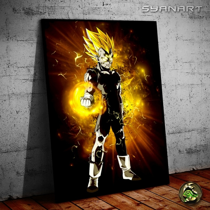 Dragon Ball Z Majin Vegeta poster Print