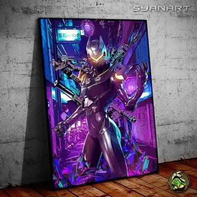 Fortnite oblivion skin poster print artwork