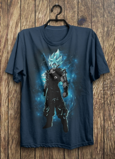 Dragon Ball Super – Goku Super Saiyan Blue T-shirt