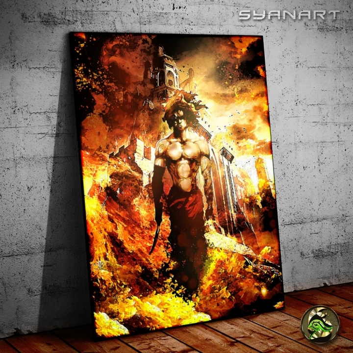 prince of persia poster print artwork